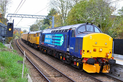 37419 & 31465 head east through Kensal Rise forming the: 1Z18 12:00 Old Oak Common to Derby RTC  09/11/12