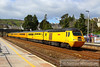 43062 heads north through Totnes on the:<br /> 1Q19 10:01 Plymouth to Paddington<br /> <br /> 19/04/13