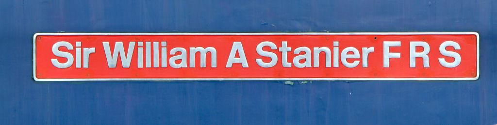 "86101 named ""Sir William A Stanier F R S"" 21/11/11"