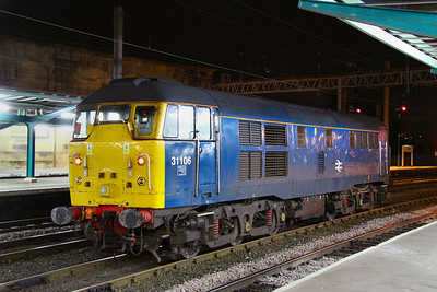 31106 calls at Carlisle on the: 0Z31 07:56 Inverness TMD to Crewe CS 24/11/11