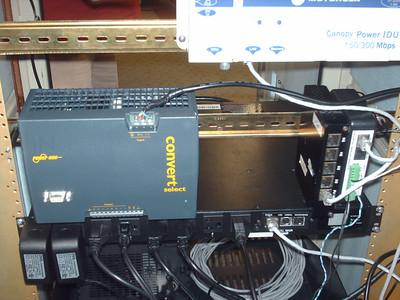 Power supply for CMM4