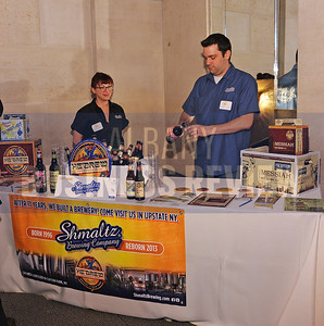 4-2-2015, Shmaltz Brewing Company's table at ABR's Hoppy Hour.