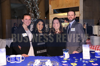 4-2-2015,  Andrea Mangione, Deanna Socaris, Britney DeThorne & Kevin Whitbeck from Walrath Recruiting at ABR's Hoppy Hour.