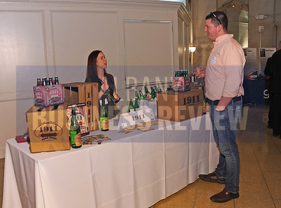 4-2-2015,  1911 Cider's table at ABR's Hoppy Hour.