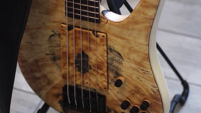 Bass Solo on Neubauer Snow Owl Bass by Joe Gridl