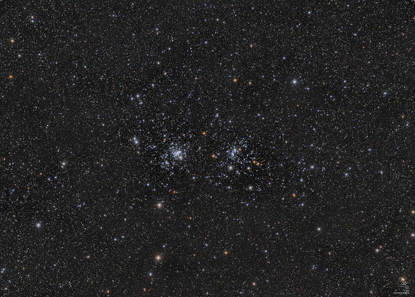 NGC 869+884 h+chi Persei