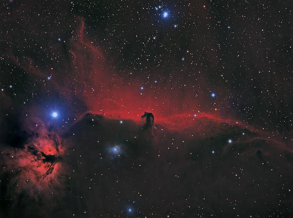 IC 434 Pferdekopfnebel