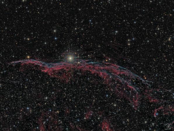 NGC 6960 Schleiernebel West