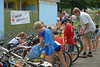 Schülertriathlon und Städtlilauf Neunkirch, 31.08.2008 © Seraina Erb