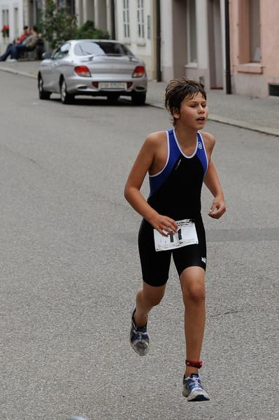 Schülertriathlon und Städtlilauf Neunkirch, 01.09.2012 © Reinhard Standke