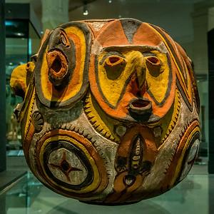 Krug aus Fiji im «Auckland War Memorial Museum»