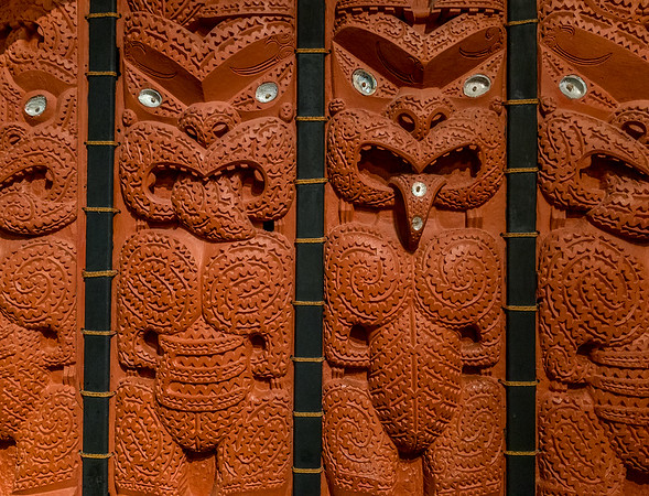Maori-Kunst im «Auckland War Memorial Museum»