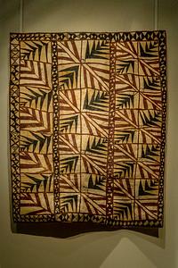 Rindengewebe aus Samoa im «Auckland War Memorial Museum»