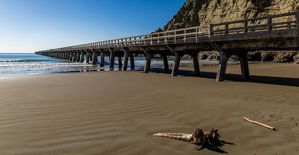 «Tolaga Bay Wharf», das längste Pier Neuseelands
