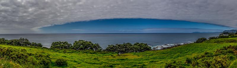 Wolkenbank am East Cape