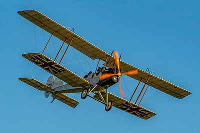 «Classic Fighters Omaka 2019»: Royal Aircraft Factory B.E.2