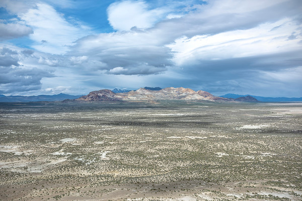 The Calico Mountains from Steamboat Mountain, Black Rock Desert, Nevada