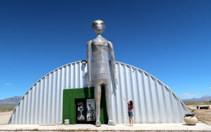 Visiting the Alien Research Center along the ET Highway