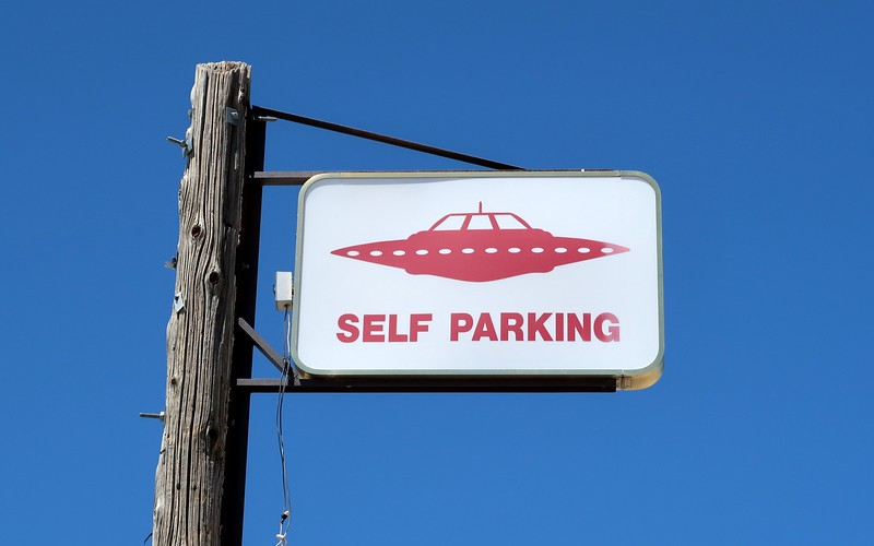 Self-parking for UFOs at Little A'le'inn