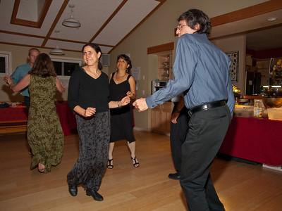 Catherine and John's NC Coho wedding party, Nov. 7, 2009