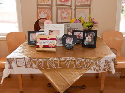 Celebration of Leal and Lloyd's 50th wedding anniversary, Sept. 10, 2011