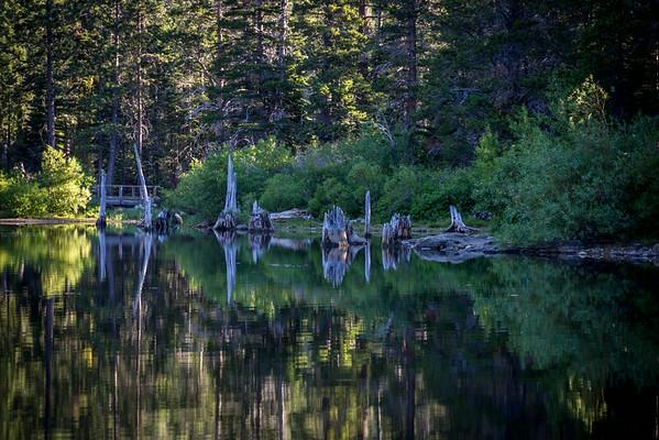 Packer Lake Ca. Tamarack Lakes Ca.