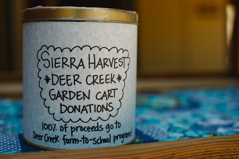 Sierra Harvest Farm Cart
