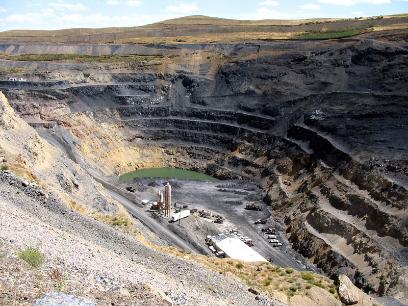 Open Pit-Jerritt Canyon Mine
