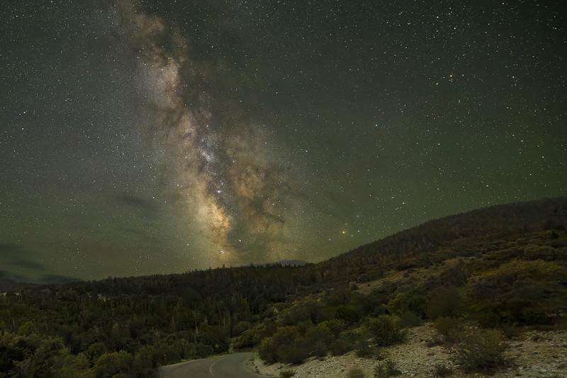 Wheeler Peak Scenic Drive Leads to the Milky Way