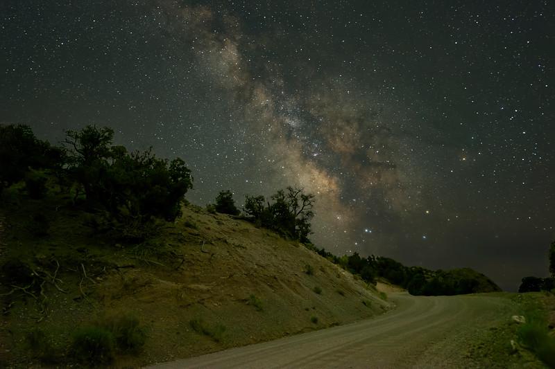Road to Milky Way at Hidden Canyon Ranch