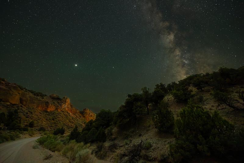 Milky Way at Hidden Canyon