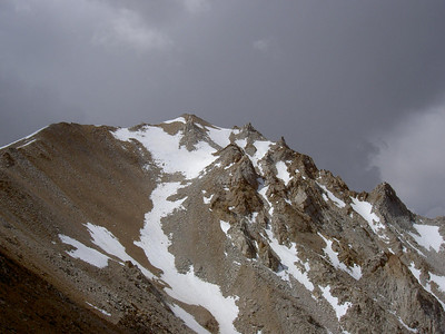 Almost to the Summit of Boundary Peak 6/25/05