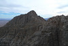 Muddy Peak is a little closer now, I'm following the ridge.