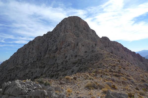 Muddy Peak - 5387' - A Desert Classic Peak  11.27.09