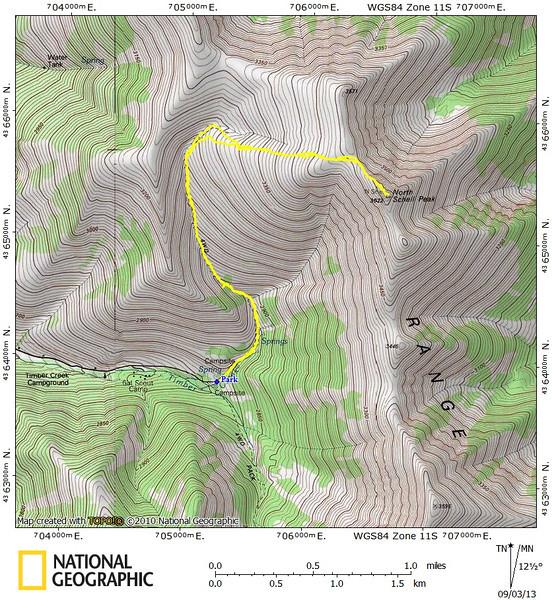 North Schell Track