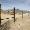 Fence, Rhyolite, NV