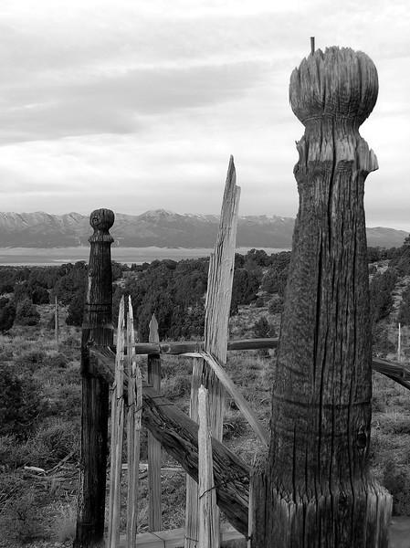 Taylor cemetery, Schell Creek Range, NV