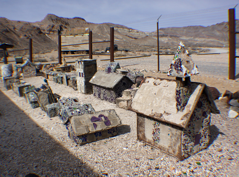 Minature of Rhyolite, NV ghost town