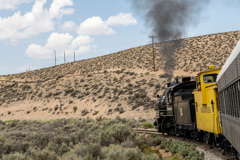 Riding Old No. 93 on the Nevada Northern Railroad