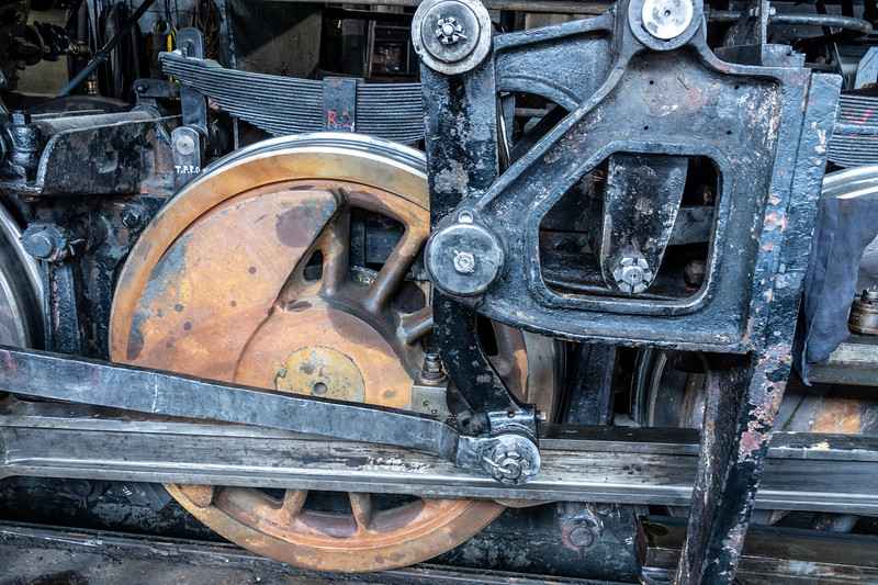 Drive Wheels of Old No. 40