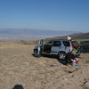 We moved the car further north above Jefferson Summit to begin the hike.