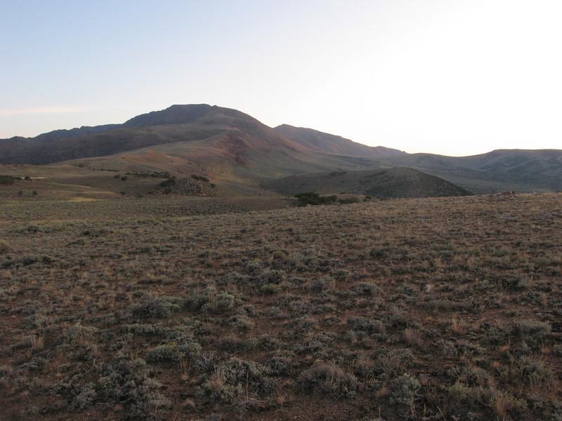 Mt. Jefferson before sunrise.