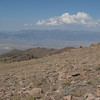 Looking west to the Toiyabe Range and Arc Dome.
