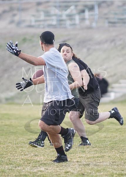 Nevada Warriors practice