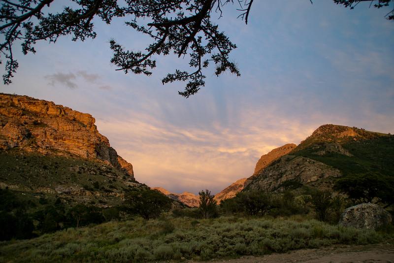 Ruby Mountain Sunset