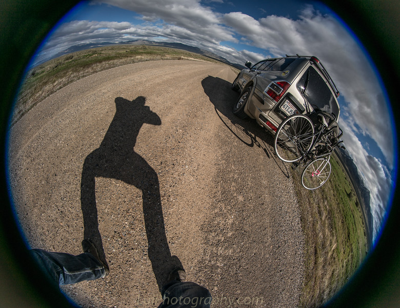 Fisheye for a different prospective .