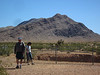 Leaving Devils Throat--Jim and Susie.  Goodby, Gold Butte.