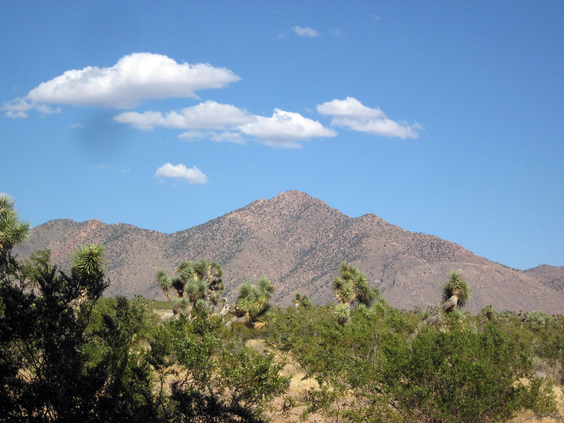 Another view of prominent Billy Goat Peak from camp