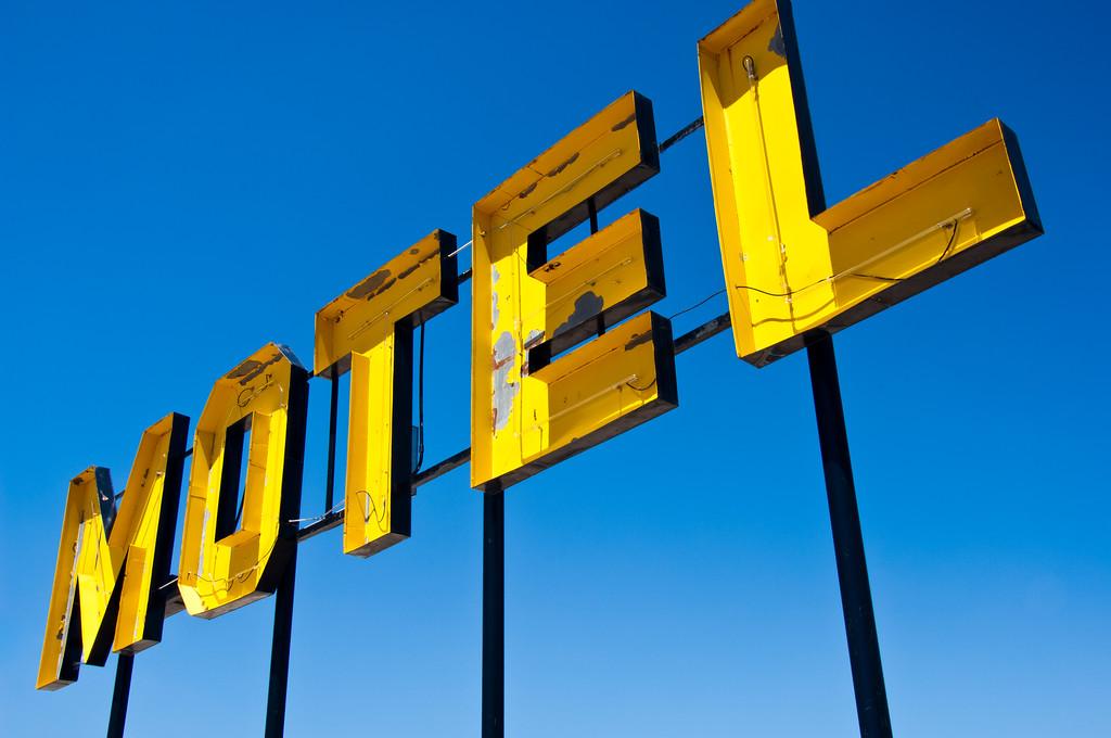 yellow motel...