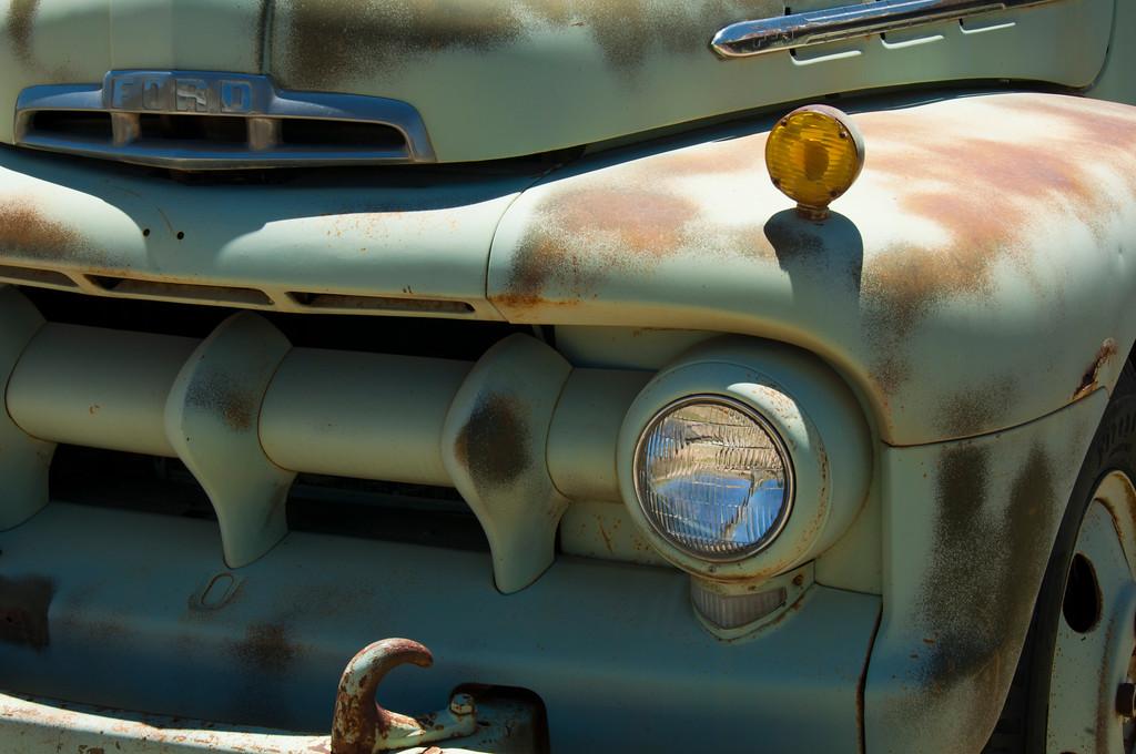 mean green ford machine